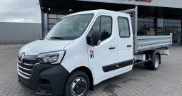 Renault Master – Kipper dubbele cabine – 165 pk Euro 6 L3