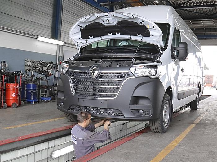 Renault Master Bedrijfswagen onderhoud