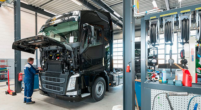 Nebim Service Truck onderhoud